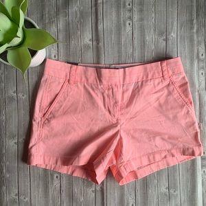 J. Crew Chino Pink Shorts